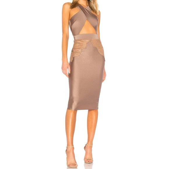 Michael Costello Dresses & Skirts - Michael Costello x Revolve Philip Midi Dress Lace